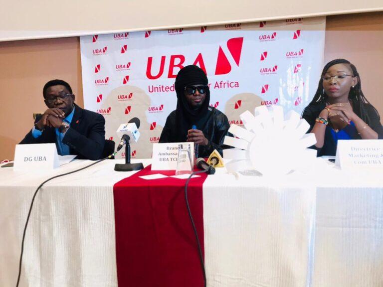 Tchad : l'artiste Afrotronix devient l'ambassadeur de marque de la banque UBA