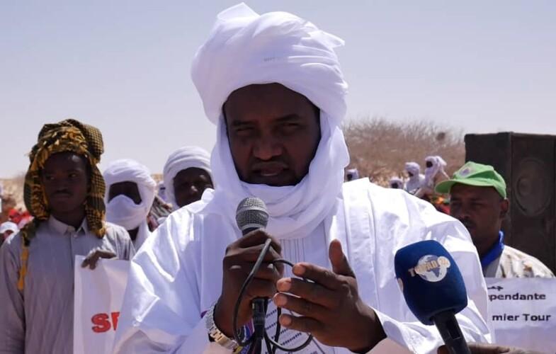 Abali Salah poursuit sa campagne dans le Tchad profond
