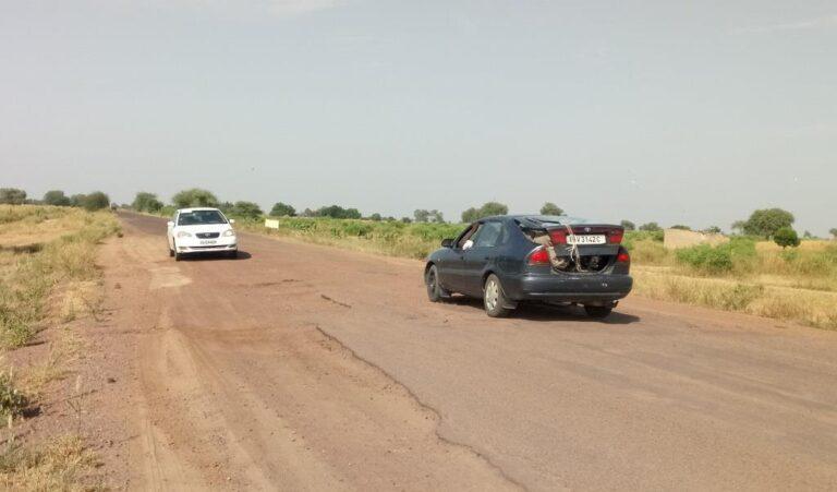 Tchad : l'axe Djermaya-Massaguet, dans un état de dégradation très avancée