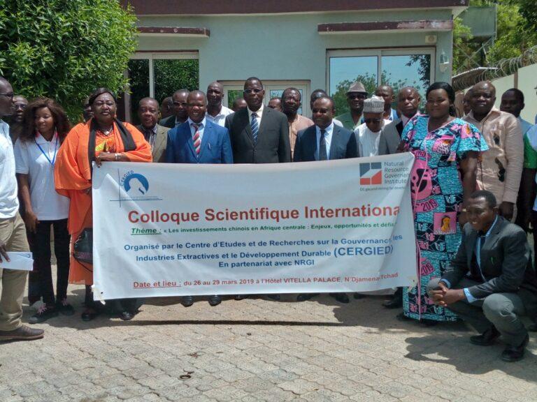 Tchad : les investissements chinois en Afrique centrale au centre d'un colloque organisé par le Cergied