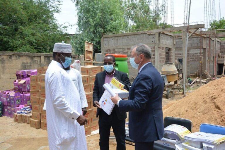 Coronavirus: remise de matériels de sensibilisation à la Croix Rouge du Tchad
