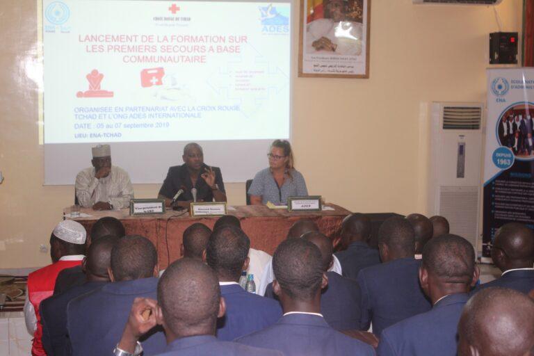 Tchad : les énarques en formation sur les premiers soins de secours