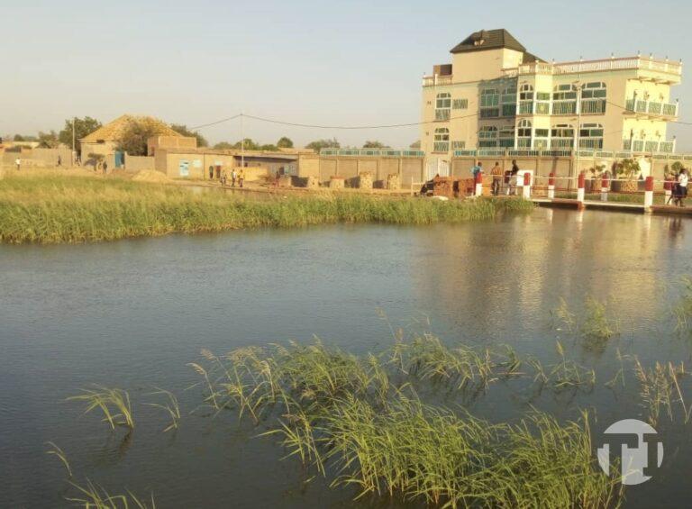 Walia et les quartiers environnants sont dans l'eau