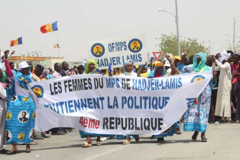 Société : les femmes de Hadjer Lamis expriment leur reconnaissance au chef de l'Etat