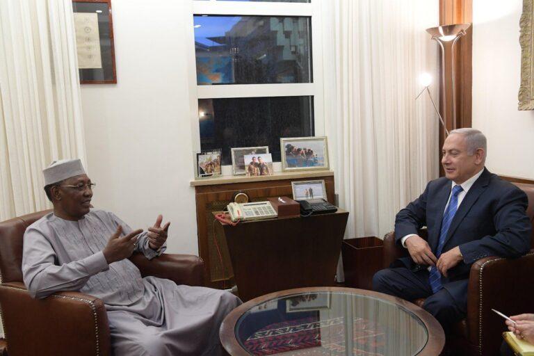 Tchad/Israël: le PM israélien sera à N'Djamena mi-mars 2019
