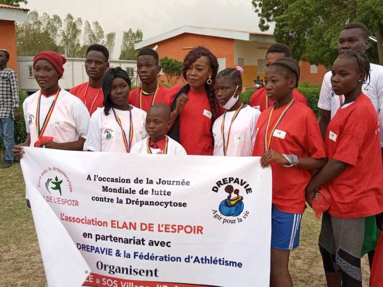 Tchad: l'association Elan de l'Espoir se mobilise contre la drépanocytose