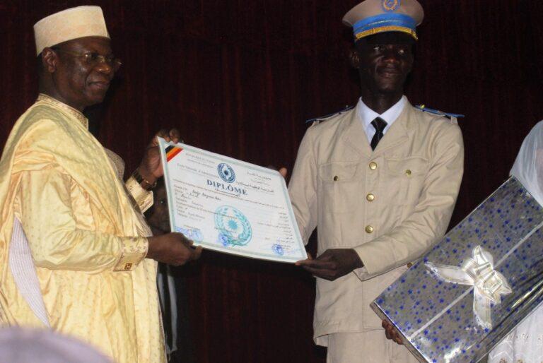 Tchad : les élèves de la 17ème promotion de l'Ena ont reçu leurs parchemins