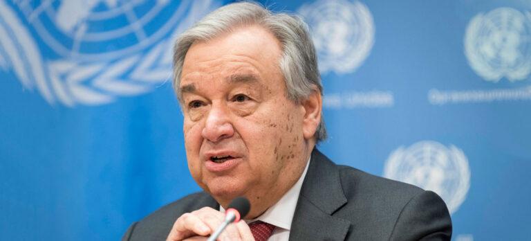 International : le secrétaire général de l'ONU appelle à une urgence climatique