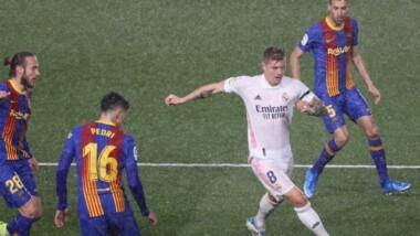 Liga : le Réal Madrid écarte le FC Barcelone de son chemin