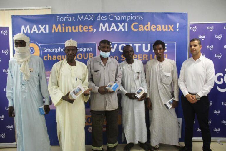 Tchad : 63 souscripteurs au Forfait maxi 200min de Tigo récompensés