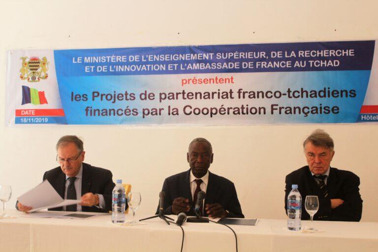 Tchad – France : lancement du projet d'appui aux formations et écoles doctorales