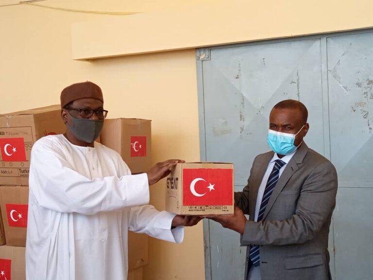 Coronavirus : réception de la 2e vague de don de la Turquie au Tchad