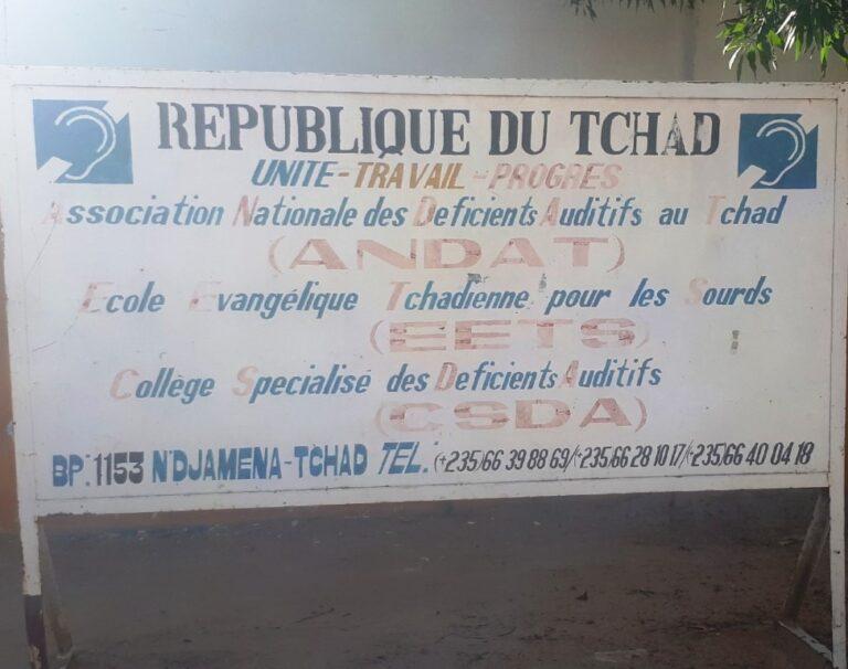 Tchad : sur les traces de l'école évangélique tchadienne des sourds