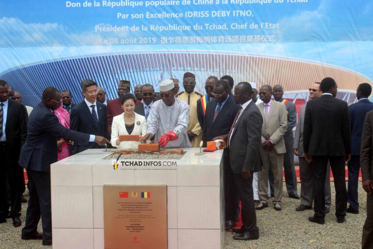 Tchad : pose de la première pierre du nouveau stade de N'Djamena