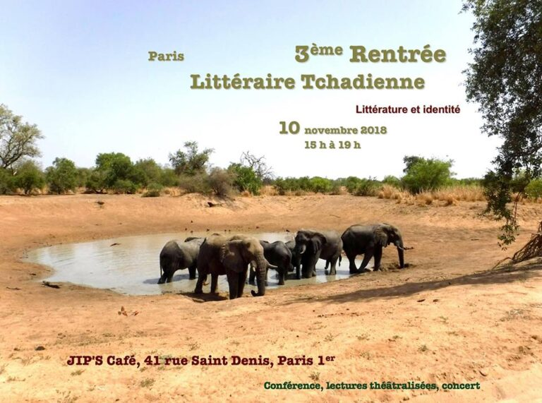 Littérature : 3ème édition de la Rentrée littéraire tchadienne de Paris
