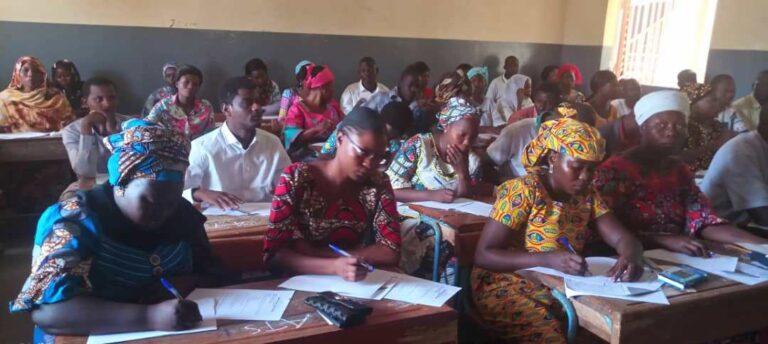 Tchad : plus de 2 600 candidats composent l'examen de certification des diplômes de santé
