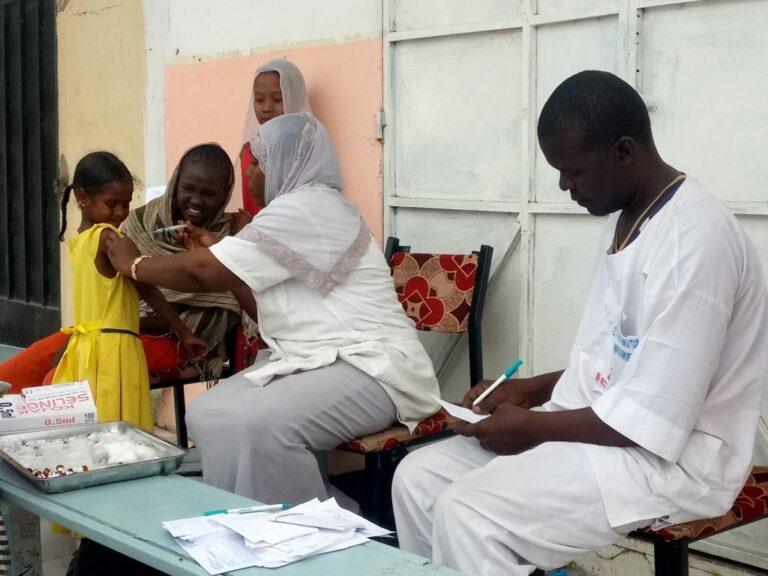 Tchad : plus de 500 000 enfants seront vaccinés contre la rougeole
