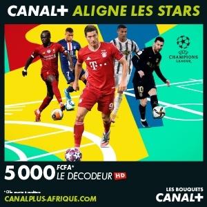 Publicité canal Plus