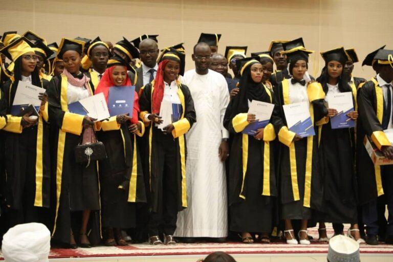 Tchad : 58 lauréats de la première promotion de l'ENASTIC reçoivent leurs parchemins