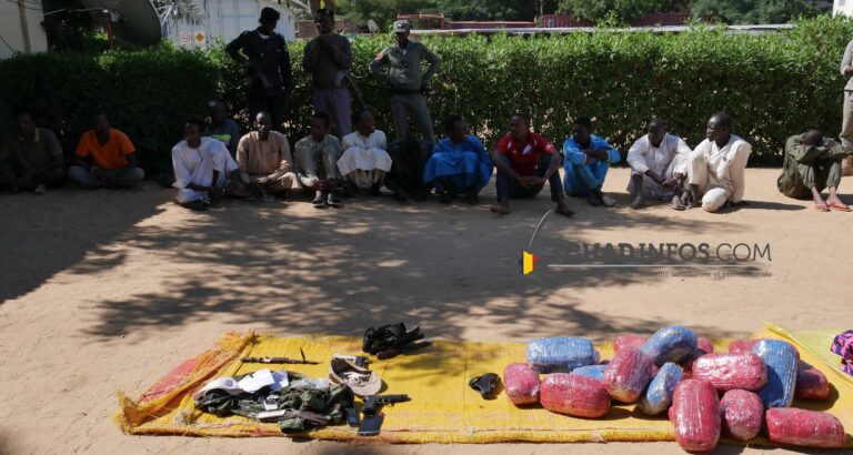 Tchad : des militaires présumés braqueurs et vendeurs des produits psychotropes arrêtés