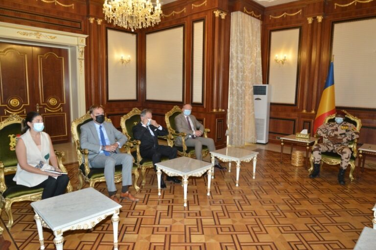 Tchad : Mahamat Idriss Deby reçoit une délégation de l'Union européenne