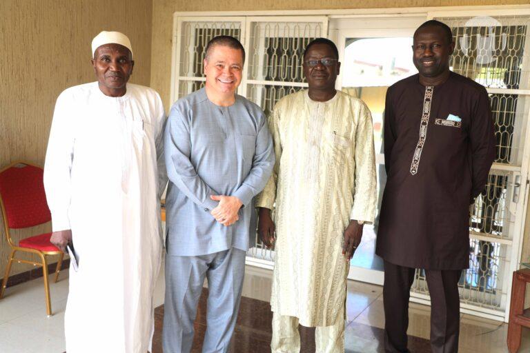 Tchad : une délégation d'Airtel reçue en audience par le Premier ministre de transition