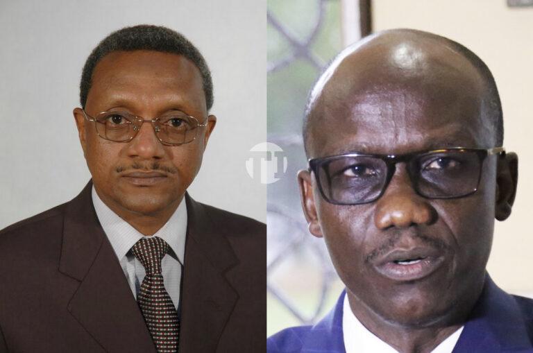 Tchad : Chérif Mahamat Zène et Issa Doubragne, les plus anciens du gouvernement
