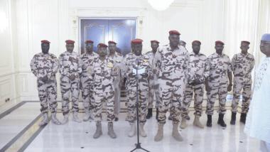 Tchad : en un mois, voici les faits et gestes notables du Conseil militaire de transition