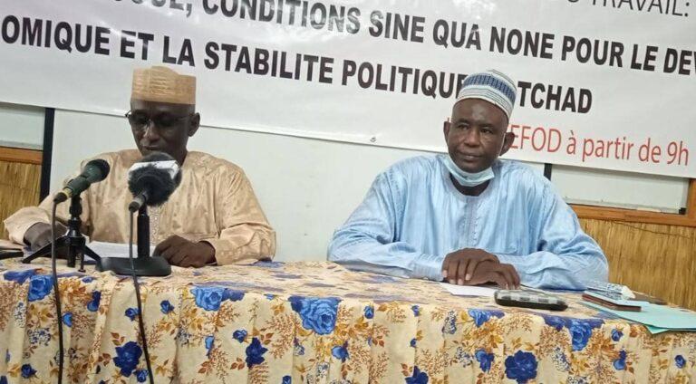 Tchad : la confédération syndicale du Tchad appelle le CMT au respect de tous les engagements pris par l'ancien régime