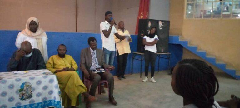 Tchad: la plateforme SONAPCO échange avec des jeunes sur la question de la paix