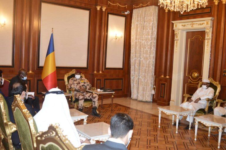 Tchad: le président du CMT reçoit une délégation émiratie