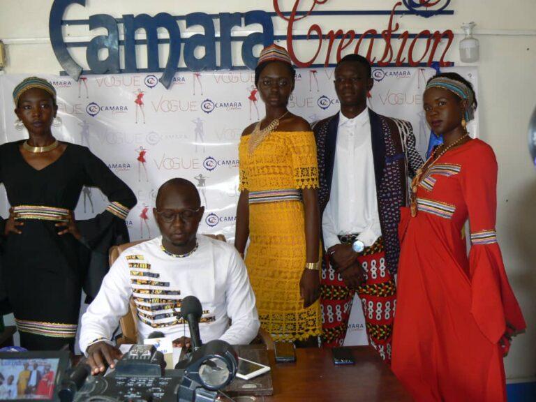 """Tchad : Camara création annonce le défilé de mode """"Vogue"""""""