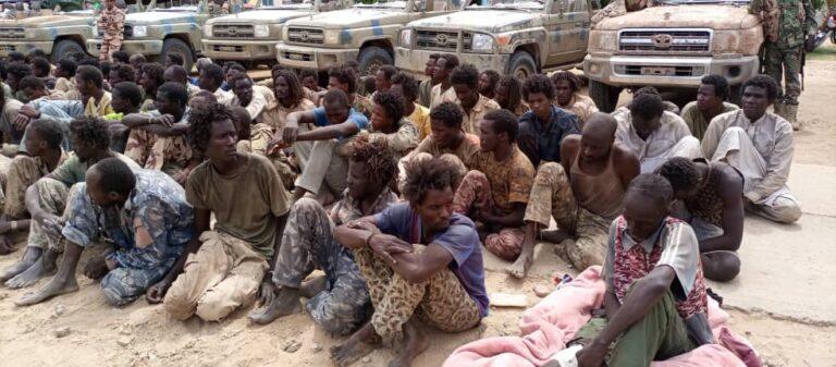Tchad : 156 rebelles du FACT faits prisonniers sont ramenés à N'Djamena