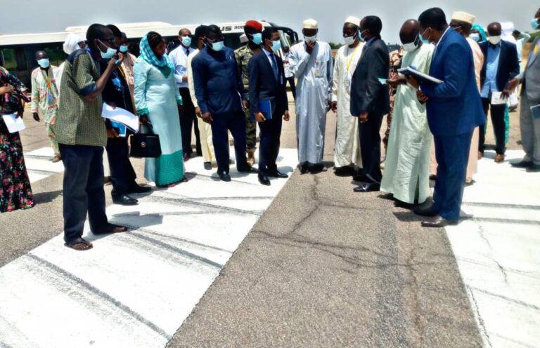 Tchad : des manquements relevés par le ministre de l'Aviation civile, Haliki Choua Mahamat, en visite à l'aéroport international Hassan Djamous