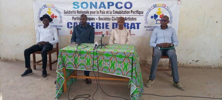 Tchad: la plateforme SONAPCO sensibilise les jeunes du 9e arrondissement de N'Djaména sur le vivre-ensemble