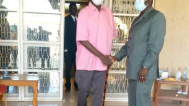 Transition au Tchad : rencontre entre le Premier ministre de transition Pahimi Padacké et Ngarlejy Yorongar