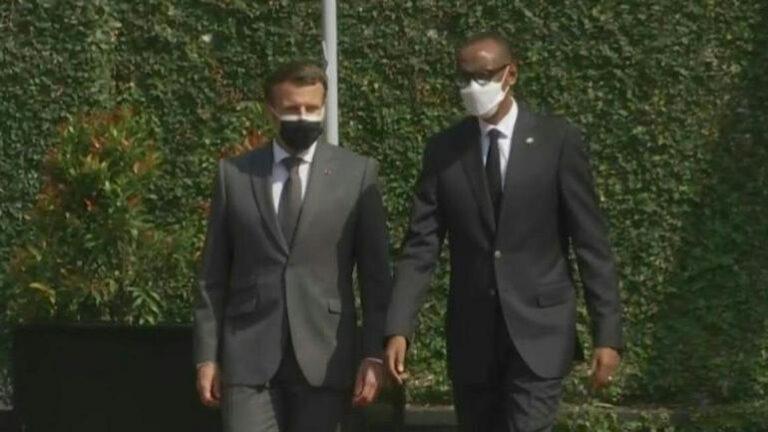 Emmanuel Macron au Rwanda pour la normalisation des relations