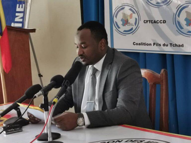 La Coalition Fils du Tchad met en garde tous ceux qui menacent la paix et  la cohabitation pacifique