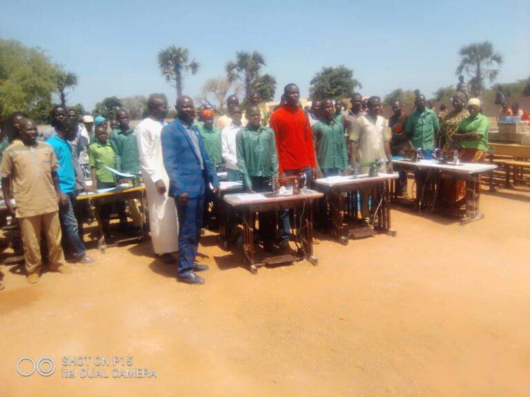 Tchad : l'ARED organise une cérémonie de réinsertion de 28 enfants victimes de la traite