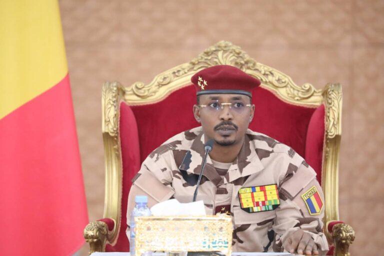 Tchad : le président du CMT rend hommage à l'Assemblée nationale