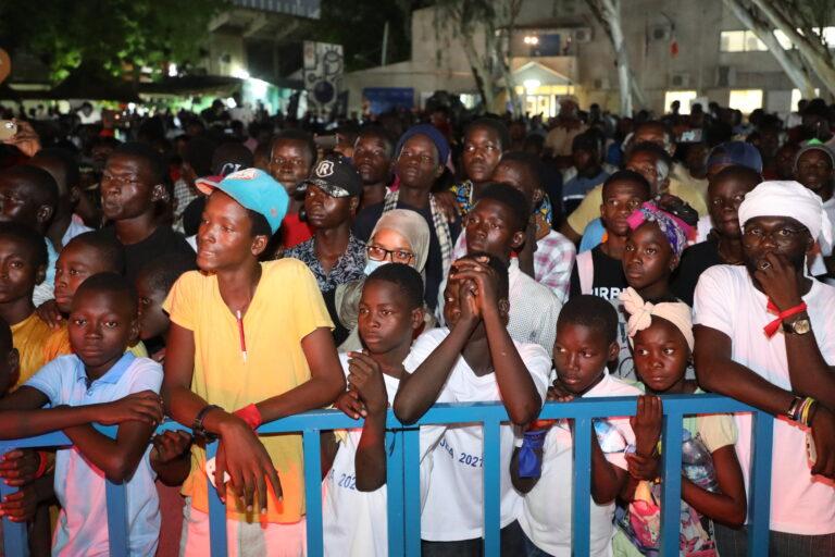 Culture : double concert d'Afrotronix, le public en extase lors de l'acte 1
