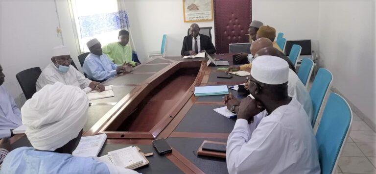 """Abéché : le ministre de l'Hydraulique donne des orientations pour accélérer l'exécution du projet """"Biteha 2"""""""