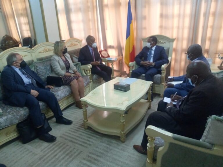 Tchad : le ministre des Affaires étrangères rencontre l'envoyé spécial de la Francophonie