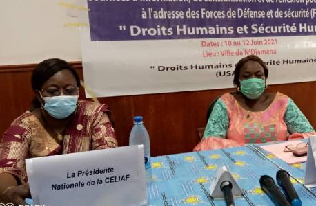 Tchad : la Celiaf sensibilise les forces de défense et de sécurité sur les droits humains