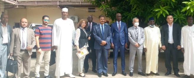 Un groupe d'investisseurs égypto-africains signe une convention avec le  Tchad - Tchadinfos.com