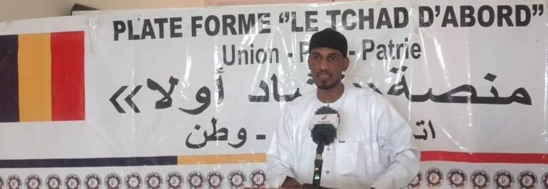 """La plateforme le """"Tchad d'abord"""" condamne l'attaque des Forces armées centrafricaines contre les soldats tchadiens à Sourou"""