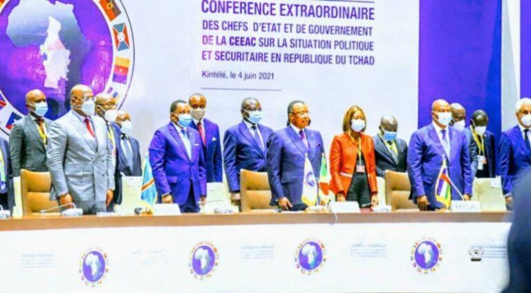 Sommet de la CEEAC sur le Tchad : les chefs d'Etat et de gouvernement appellent à la réconciliation et au dialogue