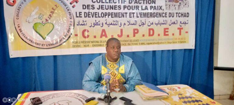 Tchad : le CAJPDET se dit indigné du comportement de certains leaders des partis politiques qui appellent à manifester contre le CMT