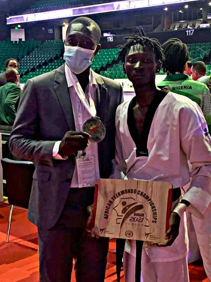 Championnat africain de taekwondo : le tchadien Betel Casimir décroche une médaille en bronze