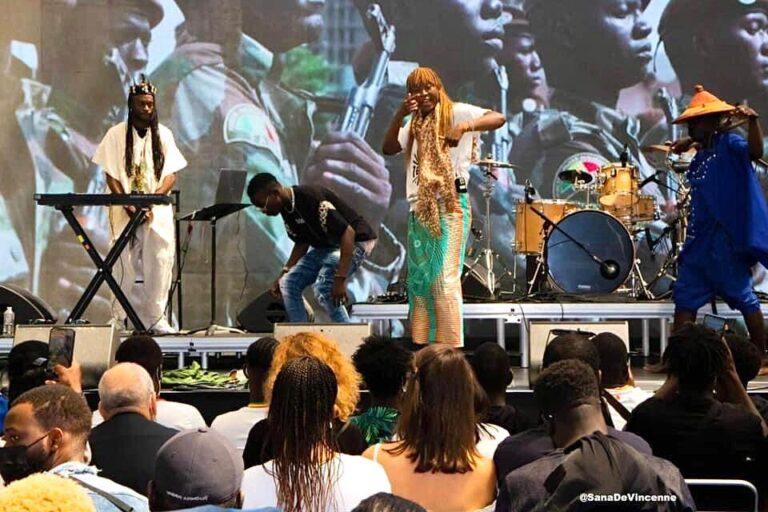 Culture : Crazy Missy a représenté le Tchad au Canopée#Africa2020 à Paris